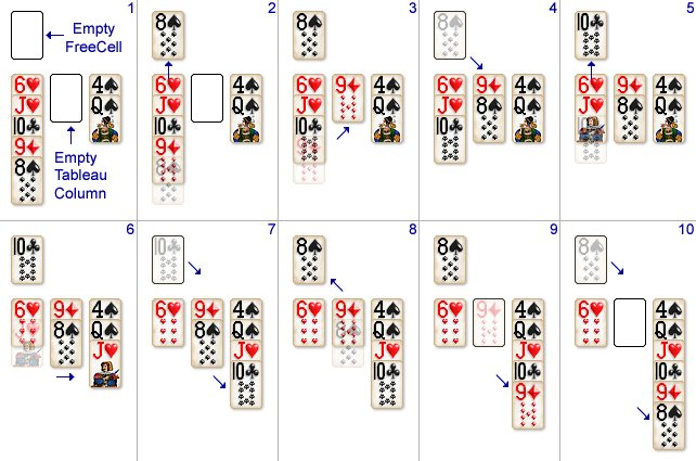 Solitaire City - How to Play FreeCell Solitaire